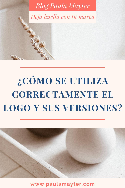 Cómo se utiliza el logo y sus versiones
