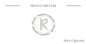 Versiones del logo. Sello o circular